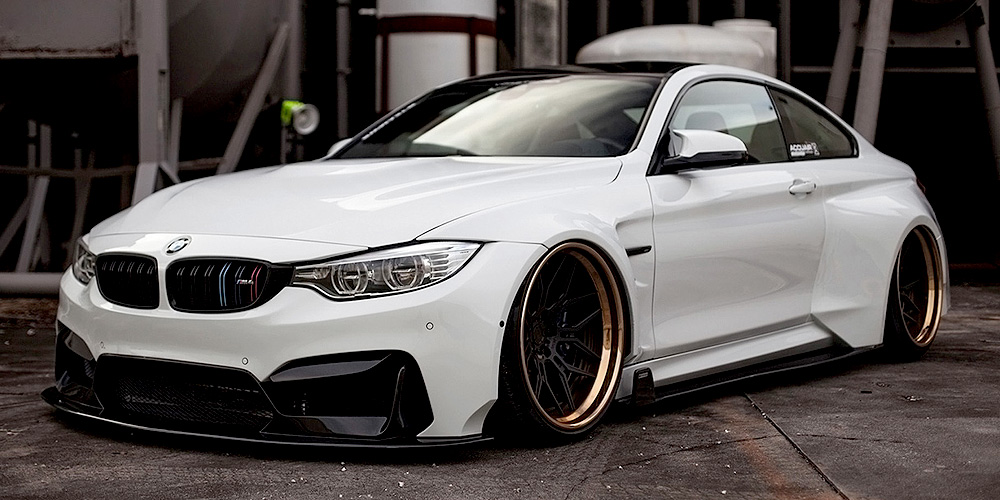 Vorsteiner BMW M4 GTRS4 Widebody